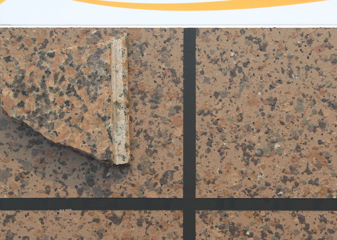 Waterbased Stoneffects Stone Coating , Granite Texture Paint Great Adhesion